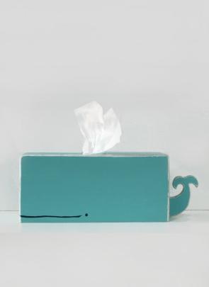 Kleenex box whale