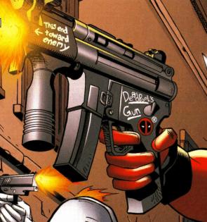 Deadpool's gun