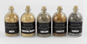 Salts made from human tears