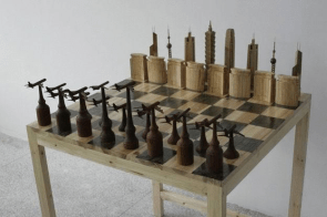 Bad taste chess set