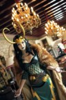 Lady Loki cosplay