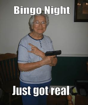 Bingo in da hood