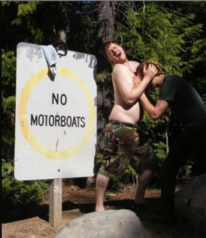 No motorboats