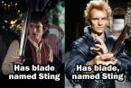 Sting, blade