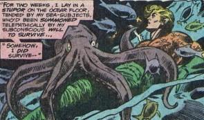 Aquaman gets octoblown