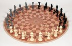Three Person Chess Set