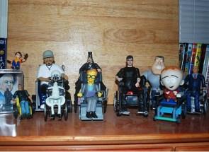 Wheelchair toys collection