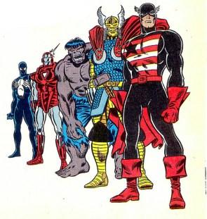 Marvel '80s makeovers