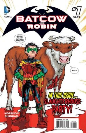 Batcow and robin