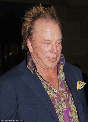 What used to be Mickey Rourke