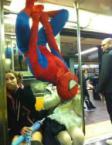 Subway Spiderman