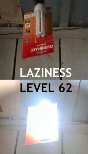 Laziness Lvl 62
