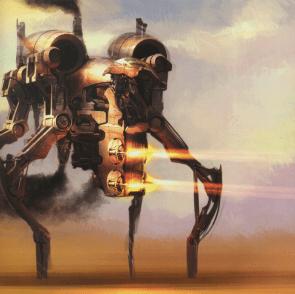 Star Wars walker concept