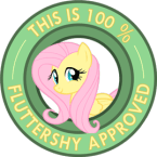 Fluttershy Seal of approval