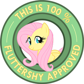 Fluttershy Seal of approval