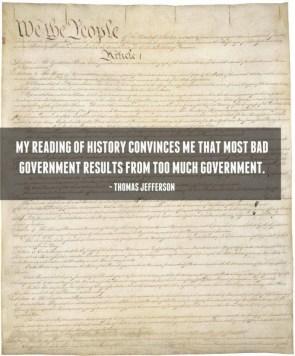 Jefferson on Government