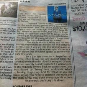 Honest Chris Brown album review