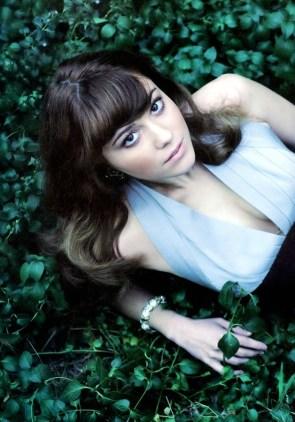 miss elizabeth on the grass