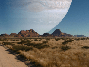 If Jupiter was the same distance away from Earth as the Moon is