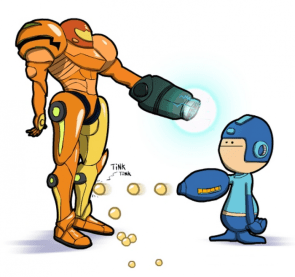 Metroid vs. Mega Man