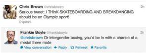 Chris Brown vs. Frankie Boyle