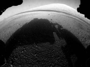 curiosity sees mars
