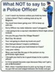 What Not to Say to the Police