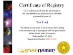 Certification of trying