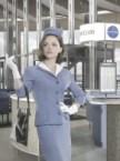 air plane waitress