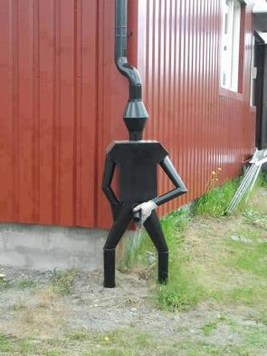 I hope that's a rain spout