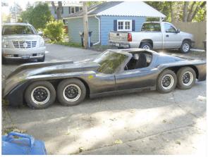 Off -road sports car