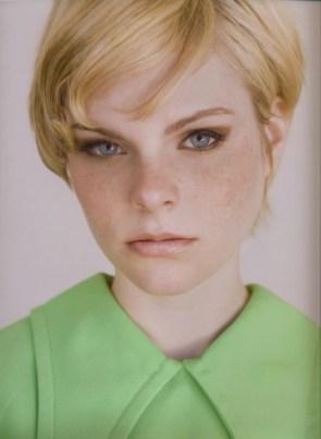 blonde freckles