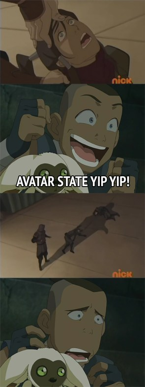 avatar state yip-yip