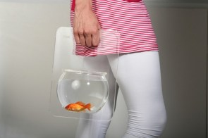 Takin' mah Goldfish for a walk –