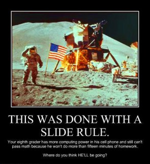 Lunar Landing motivational