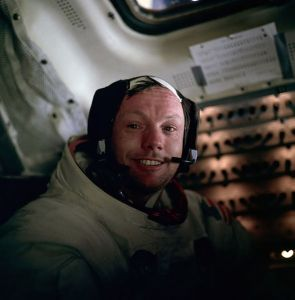 One hour with Neil Armstrong