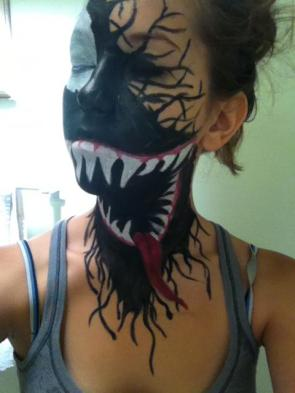 Venom & Spider Girl