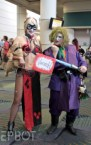 Slave Leia Harley & Jedi Joker