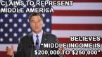 Mitt Romney represents middle America