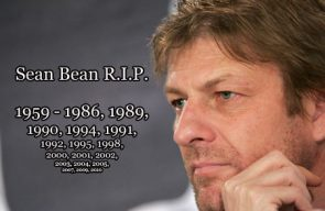 Sean Bean always dies