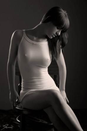 photo of a white dress