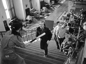 On set of The Shining