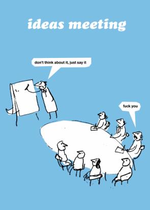 Ideas meeting
