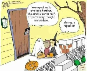Republican Trick or Treating