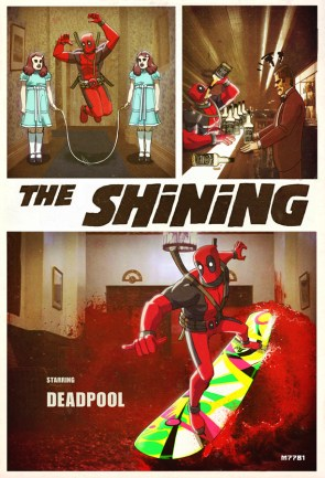 Deadpool in The Shining