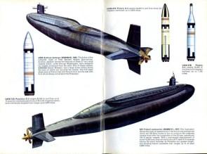 submarine diagram