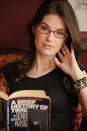 Cara Pretends to Read