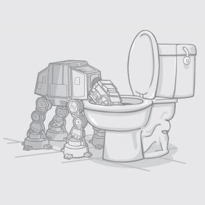 AT AT Toilet