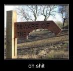 Beware the…