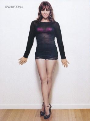 rashida shows her legs